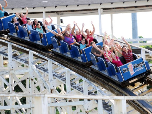 Six Flags America S Wild One Roller Coaster Turns 100