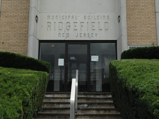 Ridgefield municipal building on Broad Avenue in the borough