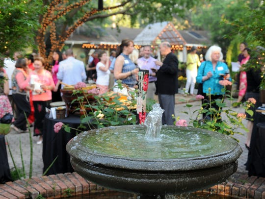 The annual Spring Fling held at Tallahassee Nurseries