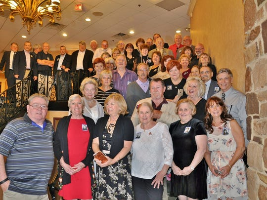 On April 14, Carteret High School Class of 1968 held its 50th Reunion at the Woodlake Country Club in Lakewood. The reunion was chaired by Cheryl McMahon Valiant, Joan Walsh Beck, Fred Beck and committee.
