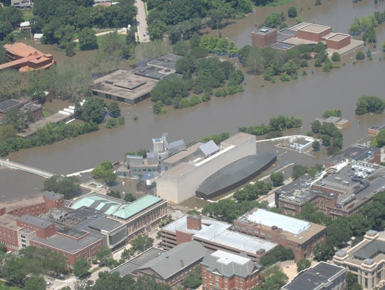 Flooding at the Iowa Advanced Technology Laboratories