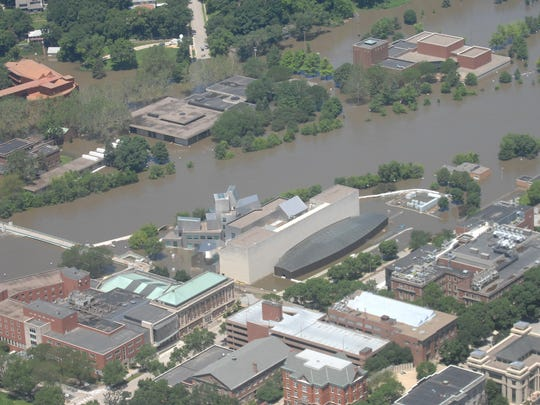 Flooding at the Iowa Advanced Technology Laboratories