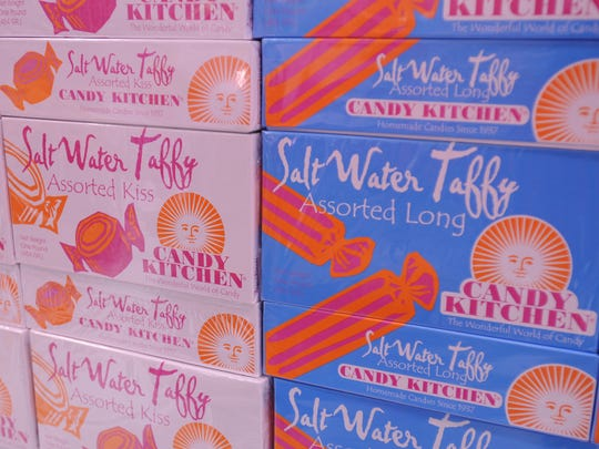 Candy Kitchen salt water taffy is a Boardwalk favorite.