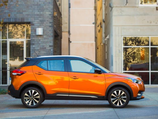 The 2018 Nissan Kicks has SUV-style looks and a $17,990