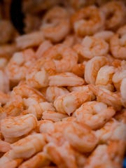 Key West pink shrimp: They are locally caught and very hard to get.