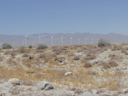 The open land north of the James O. Jessie Desert Highland Unity Center is positioned to become a portion of the CV Link pathway.