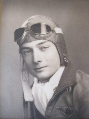 "Frederick ""Fritz"" Payne, World War II Veteran, U.S. Marine Corps."
