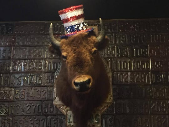 The BBQ Pitt offers great food with Americana decor.
