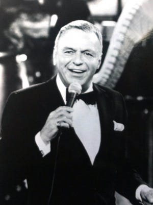 Frank Sinatra performs in this undated publicity photo.