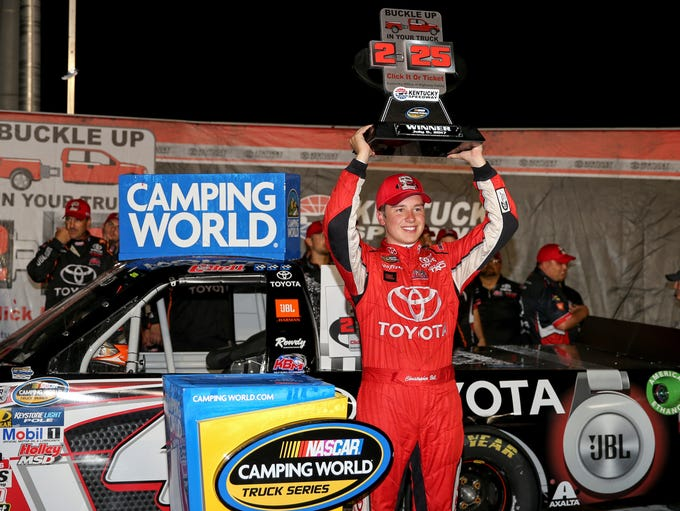 Camping World Truck Series driver Christopher Bell
