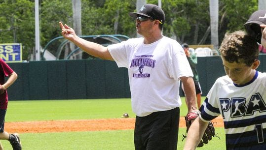 Young ballplayers go through their paces at the   Florida SouthWestern State College baseball camp., Amateur sports pumped an estimated $61 million into Lee County in 2015.