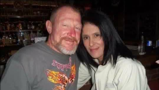 Tyus and Anita Butler are pictured in a photo courtesy of the Motorcycle Awareness Alliance's Facebook page.