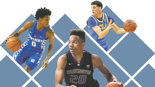 Fultz, Ball or Fox? The Suns could face a tough decision at point guard with their top-five pick.