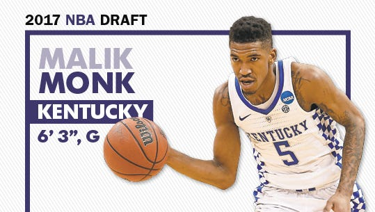 Could the Suns draft Malik Monk with the fourth pick in next month's NBA draft?