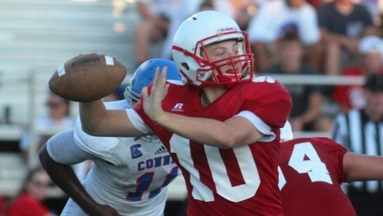 Beechwood quarterback Brayden Burch has passed for 1,783 yards and 22 touchdowns this season.