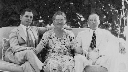 Nellie Coffman and her two sons.
