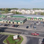 A view of the South Division Street shopping center.