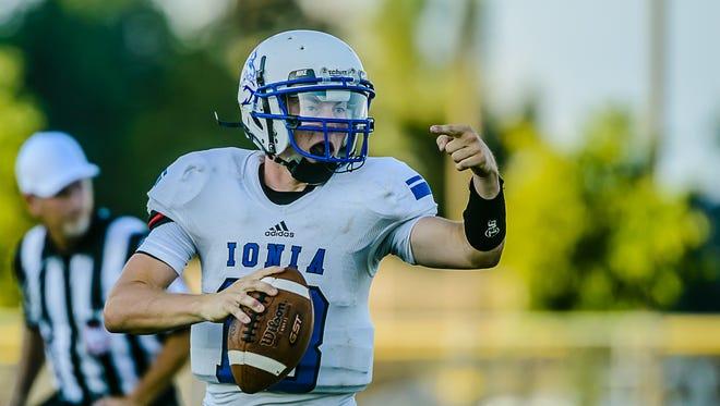 Ionia senior John Meyer  is entering his third season as the Bulldogs' starting quarterback.