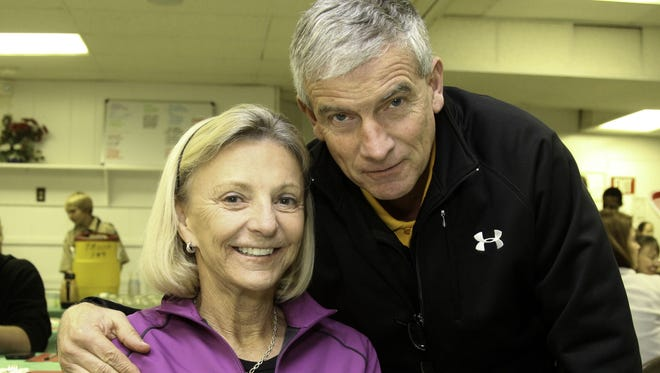 Bev and Bud Elzey of Salisbury were involved in a head-on crash in Easton on Monday, Dec. 11. Mrs. Elzey was flown to the R Adams Cowley Shock Trauma Center in Baltimore where she was listed in serious condition.