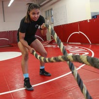 Palm Springs wrestler Cindy Zepeda won't stop until she's an MMA fighter