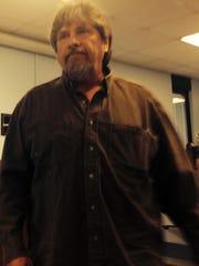 Raymond Jones at Thursday night's Metropolitan Board