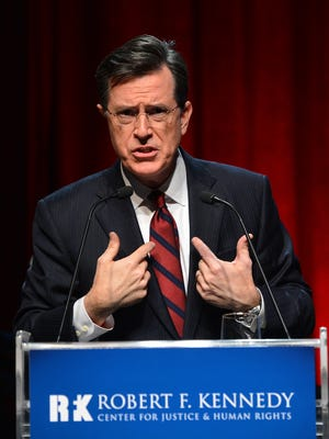 Stephen Colbert will replace David Letterman as the host of the Late Show.