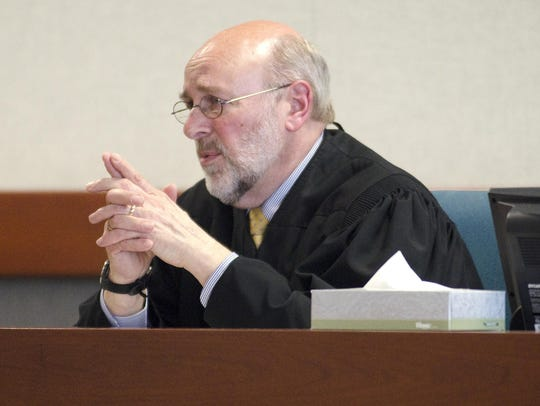Judge Brian Grearson, chief of Vermont's Superior Court