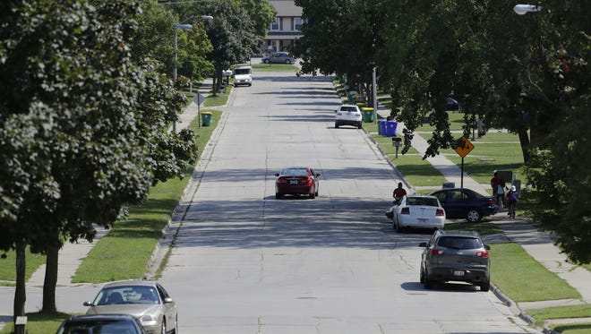 Imperial Lane on Green Bay's east side is the heart of the city's poorest neighborhood, according to the U.S. Census Bureau. About two-thirds of the area's residents live in poverty.