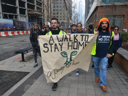 DACA Dreamers walk from NY to DC