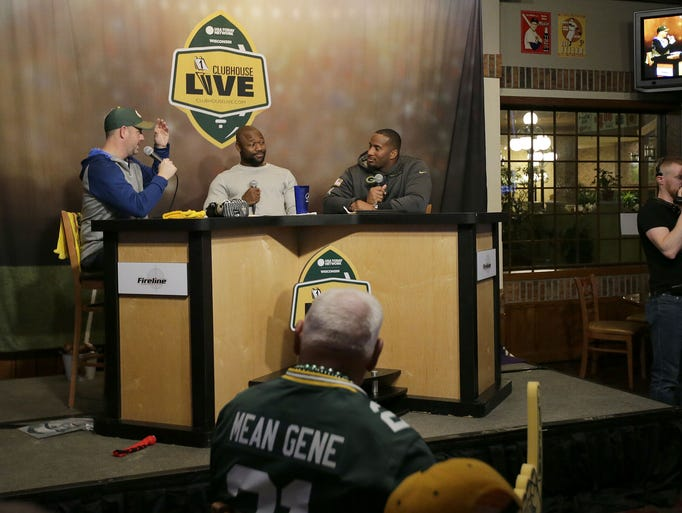 The Green Bay Packers Ty Montgomery along with co-host