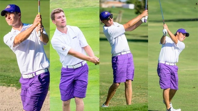 WNMU's Calum Hill snagged RMAC Golfer of the Year honers, while Thomas Neve, Harry Wetton and Deryk Perales also got honored.