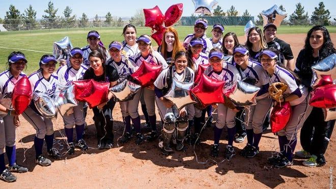 The WNMU softball team honored the memory of NMHU softball player Danielle Cordova over the weekend.