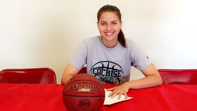 Ciara Fields, most recently at Cochise College, becomes the second player to sign to play for the Lady Mustangs.