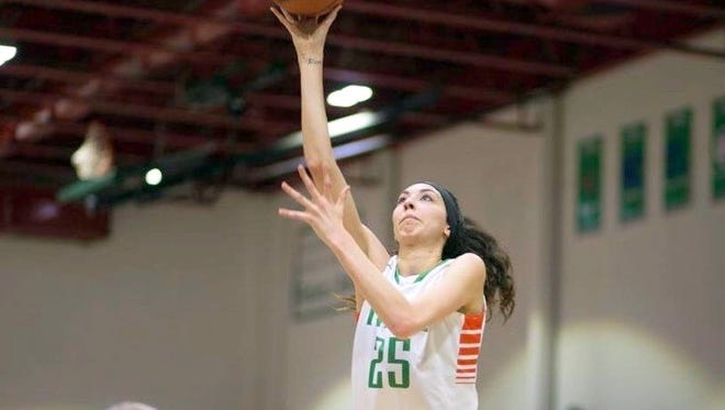 Ashton Carrasco is the latest basketball player to sign with the Lady Mustangs. She is from El Paso, Texas.