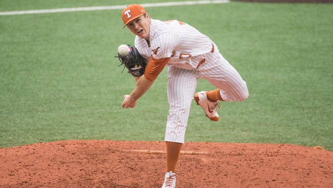 University of Texas pitcher Josh Sawyer has endured three surgeries in his career, but has come back with a vengeance in 2018. The redshirt junior is a former San Angelo Central High School standout and All-West Texas Super Team MVP.
