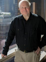 Author Pat Conroy in New York in 2013, promoting his