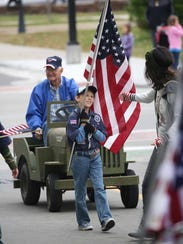 Thousands attended and participated in the Veterans