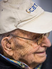 Harry Friedman, 99, of Marco Island receives hearing