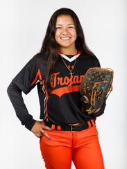 2017 Spring Player of the Year finalist April Alvarado,