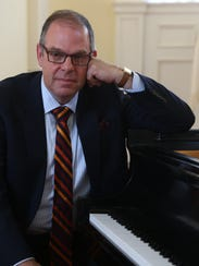 The jazz pianist Bill Charlap, director of the jazz
