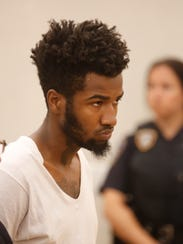 Sincere Smith was charged with murder and multiple counts of robbery during a court appearance at the Westchester County Courthouse in White Plains on July 17, 2017.