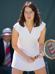 For her role in 'Battle of the Sexes,' Emma Stone gained
