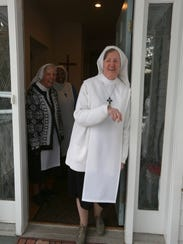 Sr. Mary Aimee at the Sisters of the Blessed Sacrament