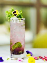 The Spring Jasmine Swizzle cocktail from Travis Nass