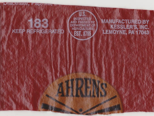 A reader sent this label fro Ahrens Butcher Bologna