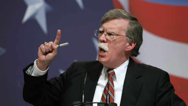 Former U.N. Ambassador John Bolton addresses the Conservative Political Action Conference (CPAC) in Washington  Feb. 20, 2010.