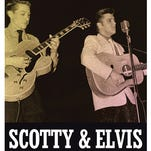 """The late Scotty Moore signs his book """"Scotty & Elvis: Aboard the Mystery Train"""" at Jackson's Lemuria Books in 2013."""