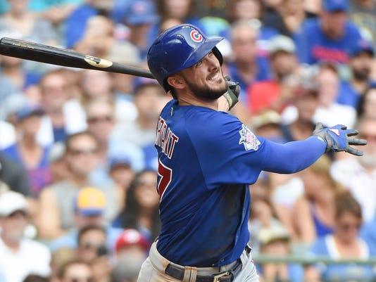 Cubs  Kris Bryant sets record with  10.85 million deal for first ... 9aaa2b8fc