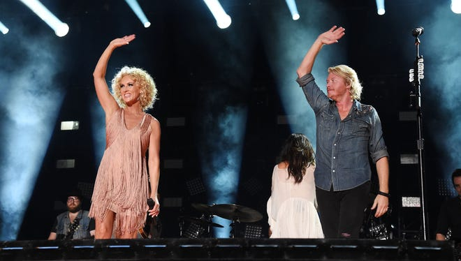 Little Big Town has headlined Country Thunder.