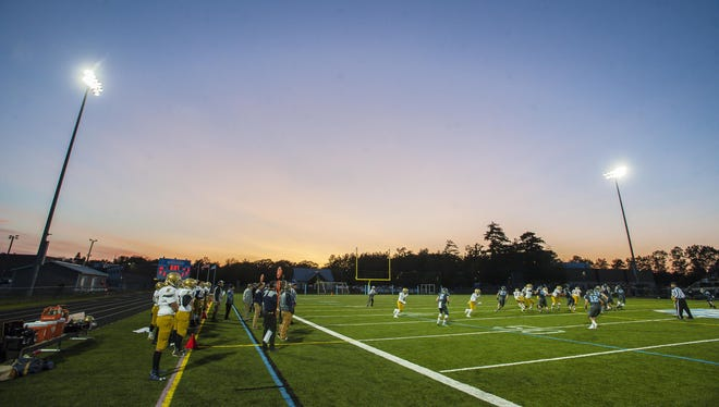 South Burlington plays host to Essex this season in high school meeting in Vermont, where football participation has remained about the same in the past five years.